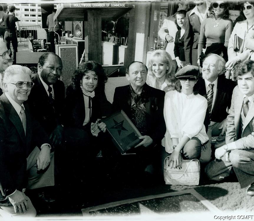 1977 Harold Robbins' Walk of Fame ceremony