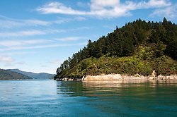 New Zealand, South Island: Scenic landscape near town of Picton on Marlborough Sounds. Photo copyright Lee Foster. Photo # newzealand125349