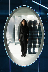 © Licensed to London News Pictures. 20/09/2016. Set designer ES Devlin with her installation titled Mirror Maze, was commissioned by  The Fifth Sense, a partnership between Chanel and  i-D, conjures a complex imagined world played out over four rooms created in response to fragrance and exploring the way it can recall memories, time and places unsolicited. London, UK. Photo credit: Ray Tang/LNP