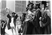 Pace University annual Commencement class of 1992. Opposite Radio City Music Hall. Manhattan. New York. 1993. © Copyright Photograph by Dafydd Jones 66 Stockwell Park Rd. London SW9 0DA Tel 020 7733 0108 www.dafjones.com