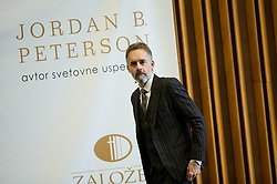Lecture of dr. Jordan B. Peterson, Professor of Psychology & Clinical Psychologist and author of the bestseller 12 Rules for Life: An Antidote to Chaos, on November 18, 2018, in Gospodarsko razstavisce, Ljubljana, Slovenia. Photo by Vid Ponikvar / Sportida