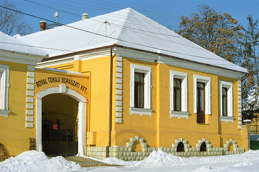 """The winery and office of The Royal Tokaji Company RTWC in Mad.. The RTWC in was one of the first Tokaj wineries to be """"revived"""" by an injection of foreign capital. It makes wine in a traditional style. Credit Per Karlsson BKWine.com"""