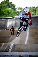 #203 (GENESTRONI Robin) FRA at Round 5 of the 2019 UCI BMX Supercross World Cup in Saint-Quentin-En-Yvelines, France