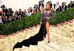 Jennifer Lopez attending the Metropolitan Museum of Art Costume Institute Benefit Gala 2018 in New York, USA.