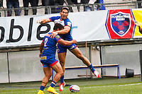 Joie Nigel Hunt - 16.05.2015 - Grenoble / Stade Toulousain - 25eme journee de Top 14<br />Photo : Jack Robert / Icon Sport