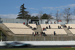 March 6, 2018 - Barcelona, Catalonia, Spain - March 6th, 2018 - Circuit de Barcelona-Catalunya, Montmelo, Spain - Formula One preseason 2018; The supporters observes Valtteri Bottas of Mercedes-AMG-Petronas Formula One  Team. (Credit Image: © Eric Alonso via ZUMA Wire)