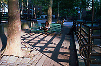 Shadows at Douglas Housing on the Upper Westside of Manhattan, New York City.