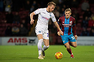 Wycombe Wanderers defender Jason McCarthy (26) during the EFL Sky Bet League 1 match between Scunthorpe United and Wycombe Wanderers at Glanford Park, Scunthorpe, England on 29 December 2018.