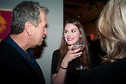 MARIO TESTINO; SIBYLLA PHIPPS; , Can we Still Be Friends- by Alexandra Shulman.- Book launch. Sotheby's. London. 28 March 2012.