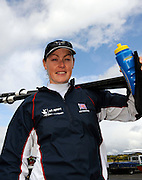 Caversham, Great Britain, Carla ASHFORD, GB Rowing media day at the Redgrave Pinsent Rowing Lake. GB Rowing Training centre. Tue. 29.04.2008  [Mandatory Credit. Peter Spurrier/Intersport Images] Rowing course: GB Rowing Training Complex, Redgrave Pinsent Lake, Caversham, Reading