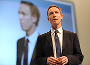 © Licensed to London News Pictures. 26/09/2011. LONDON, UK. Jim Murphy, Shadow Defence Minister at The Labour Party Conference in Liverpool today (26/09/11). Photo credit:  Stephen Simpson/LNP