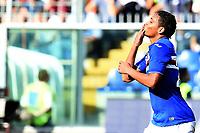 esultanza gol Luis Muriel<br /> Genova 04-10-2015 Stadio Marassi Football Calcio Serie A 2015/2016 Sampdoria Inter. Foto Matteo Gribaudi / Image Sport / Insidefoto