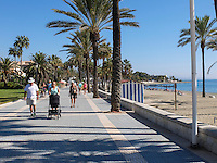 Paseo maritimo, promenade, San Pedro de Alcantara, Marbella, Spain, October, 2016, 201610102933<br /><br />Copyright Image from Victor Patterson, 54 Dorchester Park, Belfast, UK, BT9 6RJ<br /><br />t1: +44 28 9066 1296 (from Rep of Ireland 048 9066 1296)<br />t2: +44 28 9002 2446 (from Rep of Ireland 048 9002 2446)<br />m: +44 7802 353836<br /><br />e1: victorpatterson@me.com<br />e2: victorpatterson@gmail.com<br /><br />The use of any of my copyright images is subject to my Terms & Conditions. It is IMPORTANT that you familiarise yourself with them. They are available at my website, victorpatterson.com.<br /><br />None of my copyright images may be used on the Internet unless they are visibly watermarked, i.e. © Victor Patterson within the body of the image. My metadata, denoting my copyright must NOT be deleted. <br /><br />Web use is extra at currently recommended NUJ rates. Maximum permitted web size is<br /> 400kb. <br /><br />Images must not be passed on to a third party - they are for the use of the authorised recipient only.