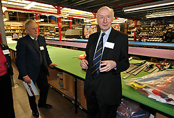 © Licensed to London News Pictures. 28/02/2012. Don Cameron, founder of Cameron Balloons factory in Bedminster, Bristol, which manufactures hot air balloons for clients around the world.  They are seeking sponsorship for this year's Bristol International Balloon Fiesta which takes place in August..Photo credit : Simon Chapman/LNP