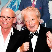 NLD/Rotterdam/20140407 - Premiere Toen was Geluk heel Gewoon, Sjoerd Pleijsier en Huib Rooymans