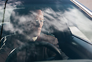 """BIRMINGHAM, AL – JANUARY 27, 2016: John George, 63, sits in his 2014 Ford Taurus. When purchasing the vehicle in 2013, George became frustrated when the dealership informed him he was ineligible for special financing due to poor credit. George, who is financially stable, has purchased multiple vehicles with cash in his lifetime and decided early on to """"not play the credit game. It's just the way I was raised,"""" George said. """"You only borrowed money for an asset that appreciates in value. If you had the money you bought it, and if you didn't have the money, you didn't. It was that simple.""""<br /> CREDIT: Bob Miller for The New York Times"""