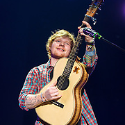 COLUMBIA, MD - September 6th, 2014 - English singer-songwriter Ed Sheeran performs at Merriweather Post Pavilion in Columbia, MD. Sheeran's second solo album, x,  was released in June and reached at number one in the UK and US. He was also nominated for Best New Artist at the 2014 Grammy Awards. (Photo by Kyle Gustafson / For The Washington Post)