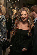 Kelly Hoppen, THE CHRISTMAS PARTY CELEBRATING THE 225TH ANNIVERSARY OF ASPREY. 167 NEW BOND ST. LONDON W1. 7 DECEMBER 2006. ONE TIME USE ONLY - DO NOT ARCHIVE  © Copyright Photograph by Dafydd Jones 248 CLAPHAM PARK RD. LONDON SW90PZ.  Tel 020 7733 0108 www.dafjones.com
