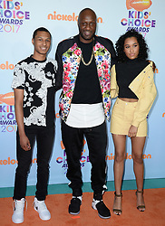 Lamar Odom attends the Nickelodeon's 2017 Kids' Choice Awards at USC Galen Center on March 11, 2017 in Los Angeles, California. Photo by Lionel Hahn/ABACAUSA.COM