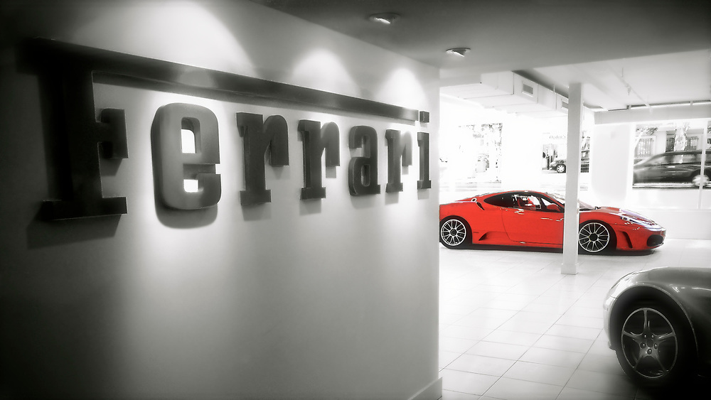 Looking for some interesting cars to admire?  A visit to the local Ferrari dealer will do the trick.  I was fortunate to shoot some beautiful cars one morning at Ferrari of San Diego.