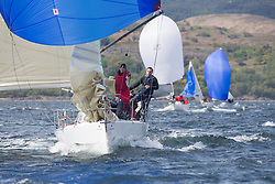 Day one of the Silvers Marine Scottish Series 2015, the largest sailing event in Scotland organised by the  Clyde Cruising Club<br /> Racing on Loch Fyne from 22rd-24th May 2015<br /> <br /> GBR2912, Ted, Peter Doig, East Antrim BC, Corby 29<br /> <br /> Credit : Marc Turner / CCC<br /> For further information contact<br /> Iain Hurrel<br /> Mobile : 07766 116451<br /> Email : info@marine.blast.com<br /> <br /> For a full list of Silvers Marine Scottish Series sponsors visit http://www.clyde.org/scottish-series/sponsors/
