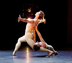 MEN IN MOTION<br /> curated by Ivan Putrov<br /> at The Lodz Grand Theatre, Poland<br /> 19th May 2015 <br /> <br /> as part of the 23rd Łódź Ballet Festival 2015<br /> <br /> <br /> 'Proust'  / Rainer Kreinstetter & Marian Walter<br /> <br /> Choreography: Roland Petit /Music: Gabriel Foure<br /> <br /> <br /> <br /> Photograph by Elliott Franks <br /> Image licensed to Elliott Franks Photography Services