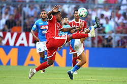 August 2, 2017 - Munich, Germany - Lorenzo Insigne of Napoli and Renato Sanches of Bayern during the Audi Cup 2017 match between SSC Napoli v FC Bayern Muenchen at Allianz Arena on August 2, 2017 in Munich, Germany. (Credit Image: © Matteo Ciambelli/NurPhoto via ZUMA Press)