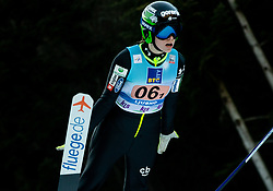 Jerneja Brecl of Slovenia competes during Team Competition at Day 2 of World Cup Ski Jumping Ladies Ljubno 2019, on February 9, 2019 in Ljubno ob Savinji, Slovenia. Photo by Matic Ritonja / Sportida