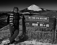 View of Mt Fuji from Mt Komagatake. Fuji Hakone Izy National Park. Image taken with a  Leica T camera and 23 mm f/2.8 lens.
