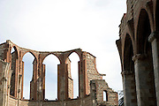 church ruin Perpignan France