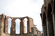 church ruin Perpignan France