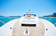Yacht Promotion. Photo by Moses Ng/MozImages