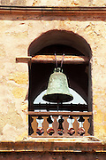 Bell tower at Mission San Carlos Borromeo de Carmelo (2nd California Mission), Carmel, California