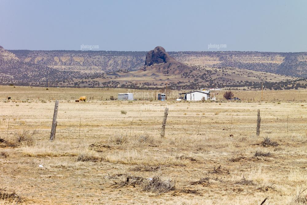Along Historic US Route 66 West of Albuquerque NM