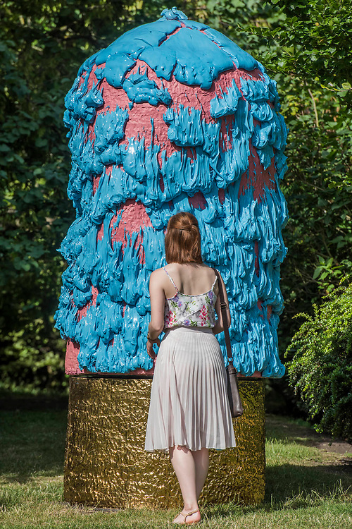 Takuro Kuwata, Untitled (2016) - The Frieze Sculpture Park 2017 comprises large-scale works, set in the English Gardens . The installations will remain on view until 8 Oct 2017.