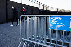 New Yorkers cope with the Coronavirus Pandemic where stores are shuttered, make shift morgues are set up by hospitals and The Army Corp of Engineers lends a helping hand.  Some New Yorkers, tired of sheltering in place, defied social distancing by excercising out doors in close proximity.