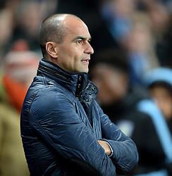 Everton Manager Roberto Martinez - Mandatory byline: Alex James/JMP - 01/03/2016 - FOOTBALL - Villa Park - Birmingham, England - Aston Villa v Everton - Barclays Premier League