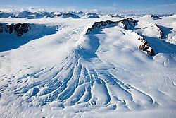 St. Elias icefields, Yukon