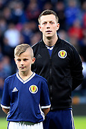 Scotland midfielder Callum McGregor (10) (Celtic) during the UEFA European 2020 Qualifier match between Scotland and Russia at Hampden Park, Glasgow, United Kingdom on 6 September 2019.