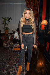 DIONNE BROMFIELD at the True Religion House Party held at 48 Greek Street, Soho, London on 2nd June 2016.