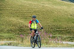 10-09-2017 FRA: BvdGF Tour du Mont Blanc day 2, St. Gervais<br /> Omgeven door imposante bergtoppen en vergezichten rijden we over mooie paden en trails naar de plaats St. Gervais waar we overnachten / Harold
