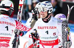 20.03.2011, Pista Silvano Beltrametti, Lenzerheide, SUI, FIS Ski Worldcup, Finale, Lenzerheide, NATIONEN TEAM EVENT, im Bild Philipp Schoerghofer (AUT), Romed Baumann (AUT) // during Nations Team Event, at Pista Silvano Beltrametti, in Lenzerheide, Switzerland, 20/03/2011, EXPA Pictures © 2011, PhotoCredit: EXPA/ J. Feichter