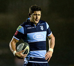 Lloyd Williams of Cardiff Blues<br /> <br /> Photographer Simon King/Replay Images<br /> <br /> Guinness PRO14 Round 14 - Cardiff Blues v Connacht - Saturday 26th January 2019 - Cardiff Arms Park - Cardiff<br /> <br /> World Copyright © Replay Images . All rights reserved. info@replayimages.co.uk - http://replayimages.co.uk
