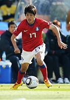 Lee Chung Yong (Corea del Sud)<br /> Argentina Corea del Sud 4-1 - Argentina vs South Korea 4-1<br /> Campionati del Mondo di Calcio Sudafrica 2010 - World Cup South Africa 2010<br /> Soccer Stadium, Johannesburg, 17 / 06 / 2010<br /> © Giorgio Perottino / Insidefoto