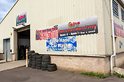 Part Worn Tyres, save on Tyres, Porte Marsh Industrial Estate, Calne, Wiltshire, England, UK