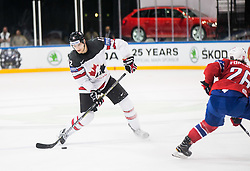 Colton Parayko of Canada during the 2017 IIHF Men's World Championship group B Ice hockey match between National Teams of Canada and Norway, on May 15, 2017 in AccorHotels Arena in Paris, France. Photo by Vid Ponikvar / Sportida