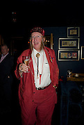 JOHN MCCRIRICK, Book launch for Citizen by Charlie Brooks. Tramp. London. 1 April  2009