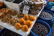 Fish eggs, caviar, San Pedro Market, Cusco, Urubamba Province, Peru