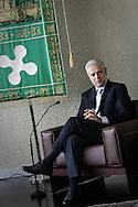 Milano, palazzo della regione: Il Presidente della Regione Lombardia Roberto Formigoni