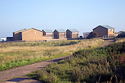 RNLI Lifeboat crew housing, Spurn Head, Yorkshire, England